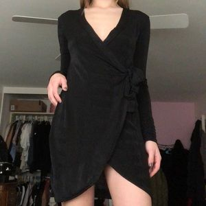 Missguided Dresses - Missguided Side Knot Slinky Dress